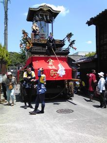 名古屋の隅っこでWebデザインやってます。-有松絞り祭り:山車
