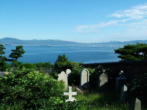 名古屋の隅っこでWebデザインやってます。-外人墓地