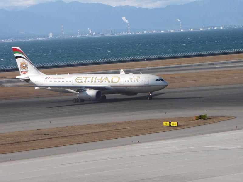 名古屋の隅っこでWebデザインやってます。-エティハド航空