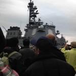 平成24年度・海上自衛隊の観艦式に参加