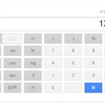 Google先生が、いよいよ電卓に本気を出してきました。
