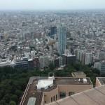 都内高層ビルにあるコワーキングスペースからの眺めは絶景でした